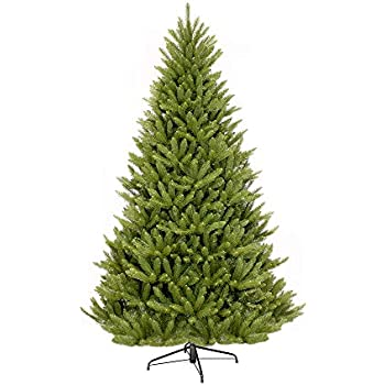 Puleo International 7-Foot Fraser Fir Artificial Christmas Tree, 7 Ft, No  Lights - Amazon.com: Puleo International 7-Foot Fraser Fir Artificial