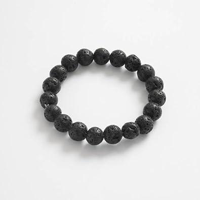 bracelet perle pierre homme