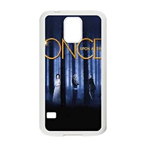 Ac65 Once Upon A Time Drama Poster plastic funda Samsung Galaxy S5 cell phone case funda white cell phone case funda cover ALILIZHIA12425