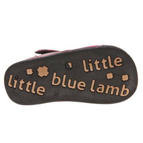 Little Blue Lamb - Patucos para niña rojo - rojo