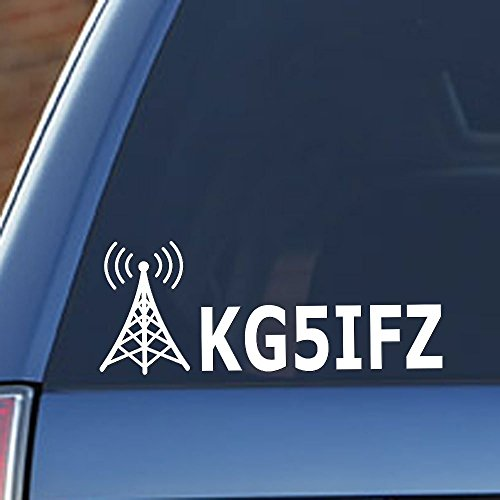 Ham Radio - Amateur Radio Callsign Antenna Window -