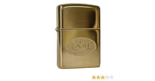 Amazon.com: Zippo Case XX Solid Brass Heavy Walled Armor Custom Lighter: Sports & Outdoors