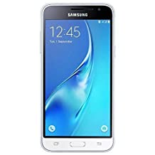 Samsung Galaxy J3 (2016) Duos SM-J320H/DS 8GB Dual SIM Unlocked GSM Smartphone - International Version, No Warranty (White)