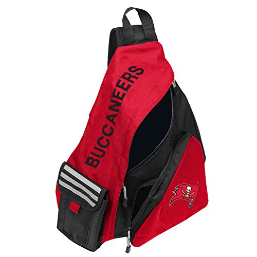 Officially Licensed NFL Tampa Bay Buccaneers Leadoff Slingbag