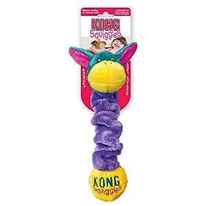 Pet Supplies : Pet Squeak Toys : KONG Squiggles Large Dog