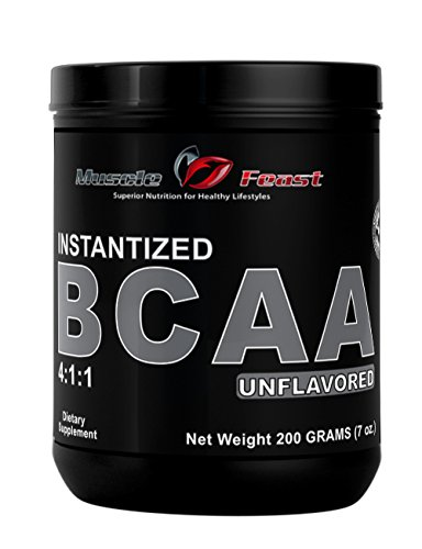Muscle Feast Instantized Branch Chain Amino Acids (BCAA) Powder (Unflavored, 200 grams)