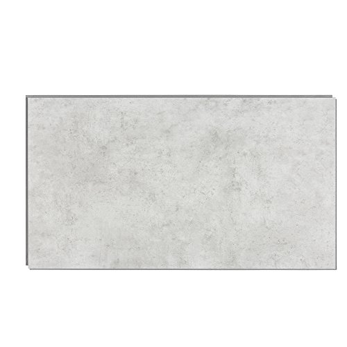 Interlocking Vinyl Wall Tile by Dumawall - Waterproof, Durable 25.59 in. x 14.76 in. Wall/Backsplash Panels for Kitchen, Bathroom, or Shower (8 Panels) (Frost Nickel)