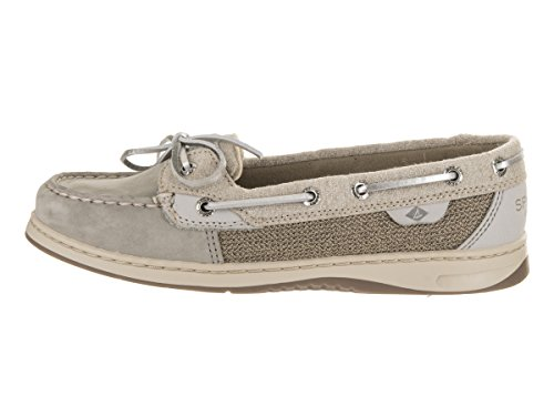 Sperry Top-Sider Frauen Angelfish 2-Augen Hafer Slip-On Loafer Grau / Silber