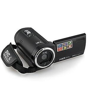KINGEAR PL009 720P 16MP Digital Video Camcorder Camera DV DVR 2.7inch TFT LCD with 16x Zoom