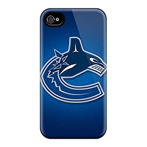 Excellent Case For Ipod Touch 4 Cover Covers Back Skin Protector Vancouver Canucks