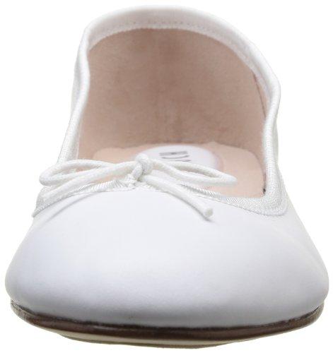 femme Blanc Ballerines Bloch White Prima xEC06wgWqf