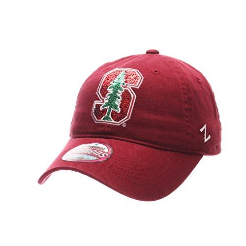 NCAA Stanford Cardinal Adult Women Women's Twinkle Hat, Adjustable, Team Color