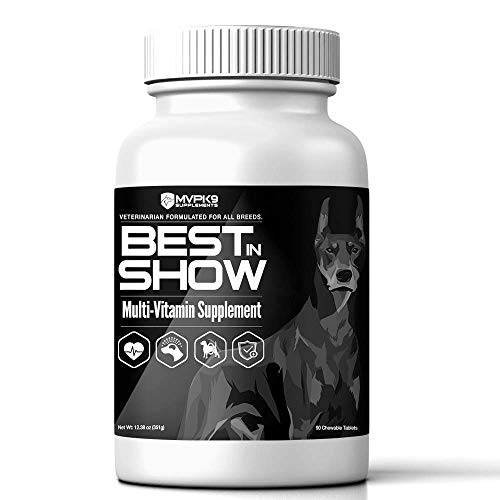 Cheap MVP K9 Supplements Multivitamins Dogs – Supports Skin, Coat, Eyes, Nails, Digestion Overall Health. All Breed Formula. Made in USA.