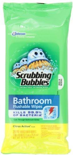 Scrubbing Bubbles Scrubbing Bubbles Wipes, 28 Count