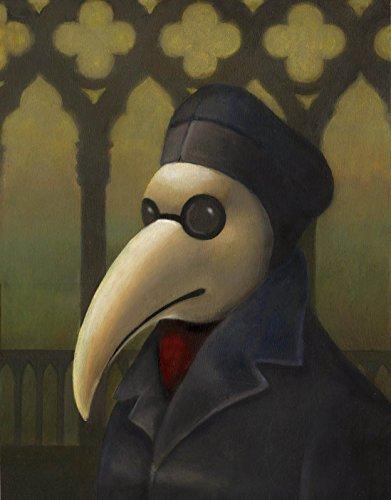 Bubonic Plague Mask (Plague Doctor Print - Venetian Mask - Gothic Print - Medieval Venice - Steampunk - Bird Mask - Commedia dell'Arte - Black Death)
