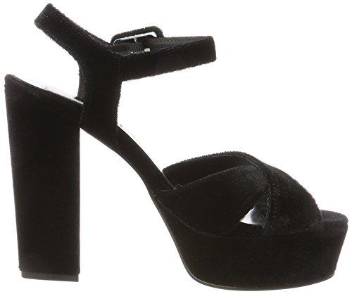 Plateforme Thuile Femme C99 Noir Blu Sandales Tosca nero qOS4t4