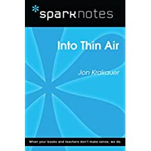 Into Thin Air (SparkNotes Literature Guide) (SparkNotes Literature Guide Series)