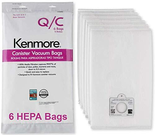 Kenmore HEPA Vacuum Bags