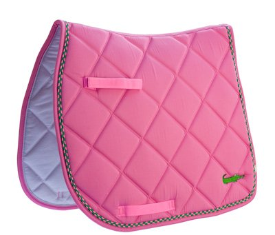 Lettia Embroidered Pads Pink W Alligator