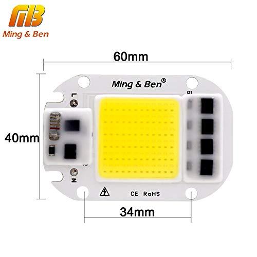 Amazon.com: Jammas [MingBen] 1set LED COB Chip+Lens ...