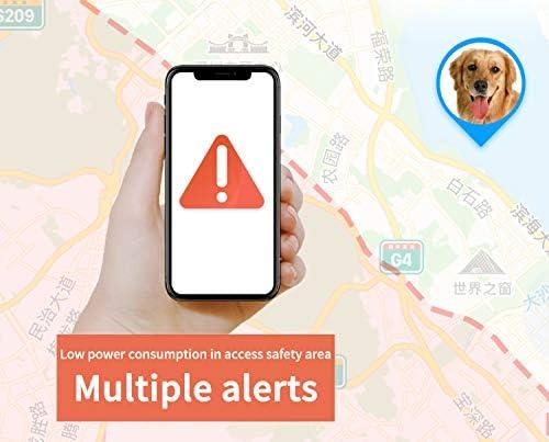 localizzatore GPS per Cani e Gatti Hangang con tracciatore di attivit/à e GPS