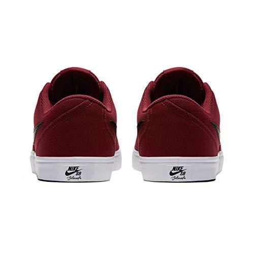 detailed look c4e89 77bf2 Nike 843896-611  SB Check Solarsoft Men s Dark Team Red Black White Sneaker
