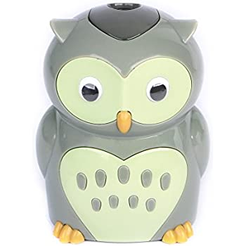 Eagle Cartoon Electric Pencil Sharpener, Battery Operated, Owl