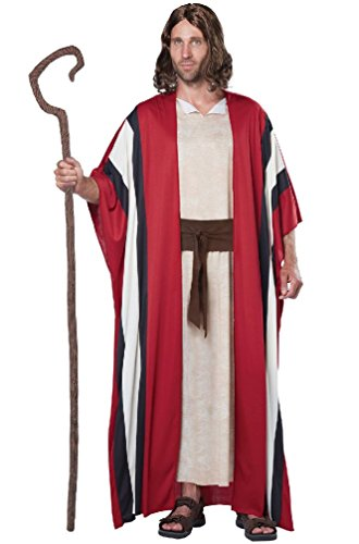 Biblical Shepherd Moses Religious Bible Adult Men Costume -