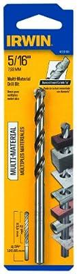 Irwin Tools 4935109 5/16-Inch Multi Material Drill Bit