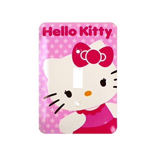 Hello Kitty Juvenile Steel 1 Toggle Wallplate