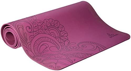 prAna Henna E.C.O. Yoga Mat, One Size, True Orchid: Amazon ...