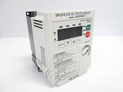Vexta BLFD200A2 Brushless DC Motor Drive, 100-120V 4.7A In, 0-240V 0 ...