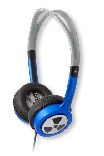 iFrogz EarPollution Toxix Headphones - Blue