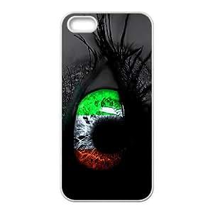 (CGMR) Irish Flag iPhone 4 4s Cell Phone Case White