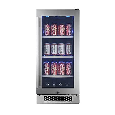 Avallon ABR151GRH 15 Inch Wide Beverage Center with Right Swing Door (ABR151SGRH)