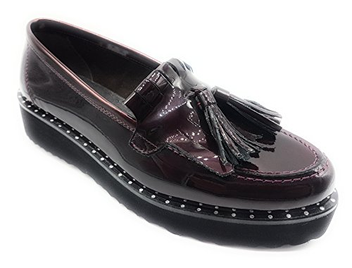 Lince Flats Burgundy Women's Women's Lince Loafer FvPqB0