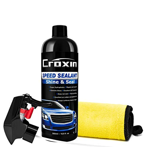 Car Paint Sealant Hybrid Ceramic Coat Polish and Sealer Kit Mirror Shine Spray Car Coating Paint Care Anti-Scratch Super Hydrophobic Liquid