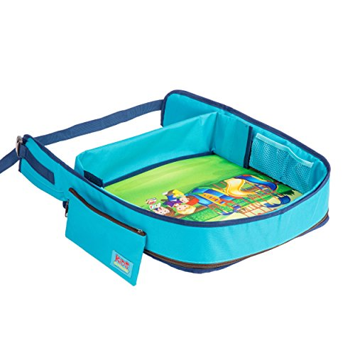 Toddler Travel Tray – Snack and Play Kids Activity Tray for Car Seat ...