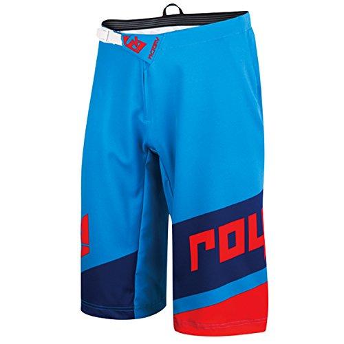 Royal Racing Victory Race Shorts, Cyan/Navy/Red, Medium