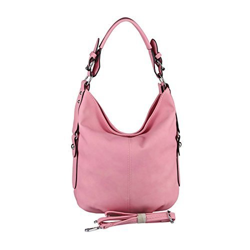 OBC Only-Beautiful-Couture - Bolso al hombro para mujer Azul azul ca.: 33x30x12 cm (BxHxT) fucsia