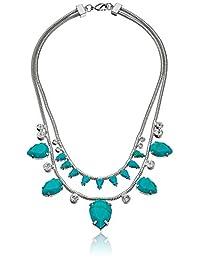 nOir Jewelry Jet Snake Statement Necklace