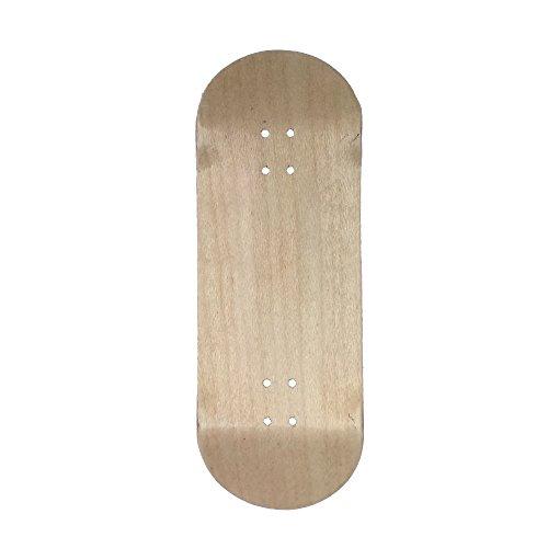 Price comparison product image Exodus Spartan II Deep Concave Fingerboard Deck (Natural, 34mm)
