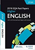 Higher English 2016-17 SQA Past Papers with Answers