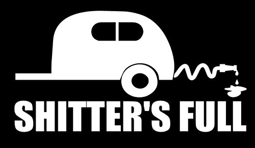 SixtyTwo24 Shitters Full - Decal [White] 5