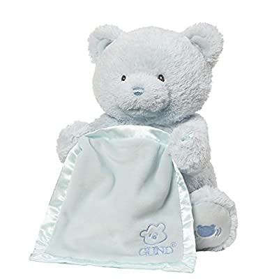 Gund Baby My First Teddy Bear Peek A Boo Animated Baby Stuffed Animal
