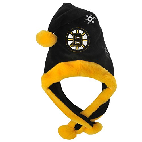 NHL Boston Bruins Thematic Santa Hat (Boston Bruins Santa Hat)