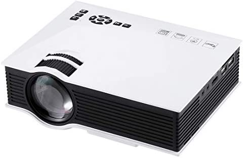 Tangyongjiao Proyectores de vídeo UC46 1200 lúmenes HD 800 x 480 ...