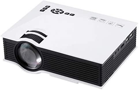 Tangyongjiao Proyectores de vídeo UC46 1200 lúmenes HD 800 x ...