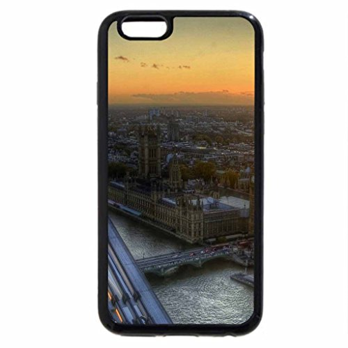iPhone 6S / iPhone 6 Case (Black) spectacular view from the london eye hdr