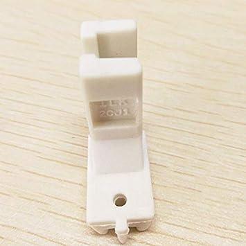 YICBOR Zipper Foot invisible, vástago alto #2CJ1 para Singer, Brother, Pfaff y